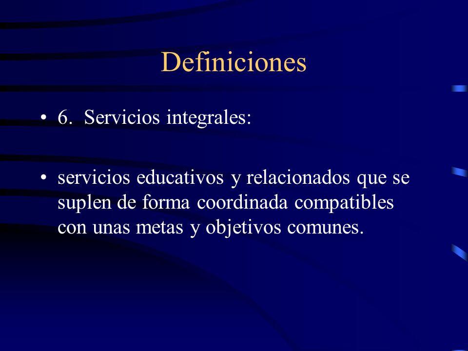 Definiciones 5. Programa Individualizado de Rehabilitación para Empleo: documento escrito en el cual se especifican los servicios a la persona elegibl