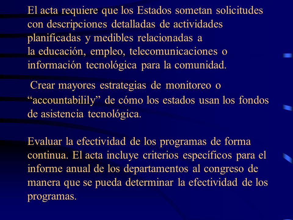 Asegurar la inclusión de los estudiantes con impedimentos en un sistema de accountability Imlantar métodos para reducir el número de estudiantes con t