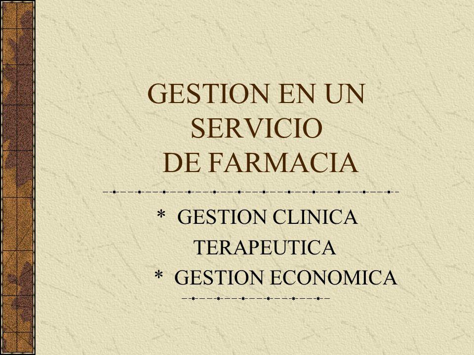 SERVICIOS DE FARMACIA DIRIGIDOS POR EX RESIDENTES FARM. GRACIELA MONTOYA