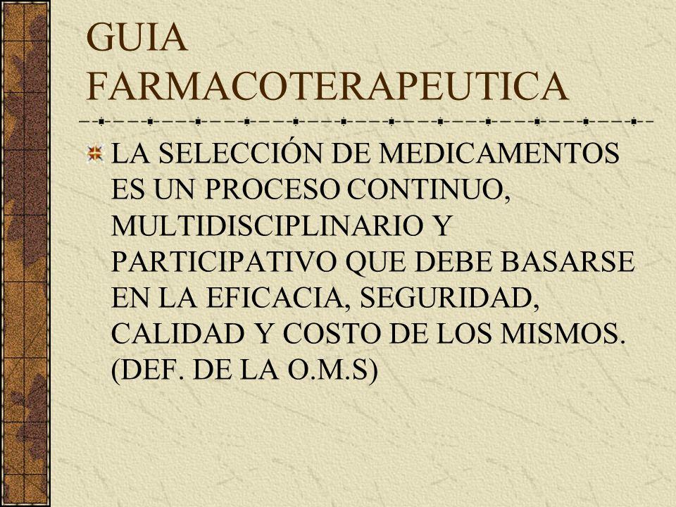 SELECCIÓN DE MEDICAMENTOS E SELECCIONADQUISICION PRESCRIPCION ATENCION FARMACEUTICA LOGISTICA DISPENSACIONADMINISTRACIONSEGUIMIENTO ESQUEMA SEGUIDO PO