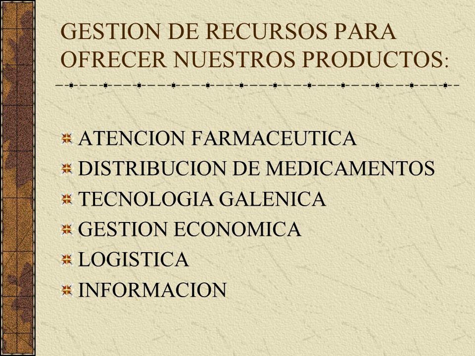 NUESTRA MISION: ASEGURAR LA EXISTENCIA Y PROVISION DE LOS MEDICAMENTOS PRESTAR UNA ATENCION FARMACEUTICA DE CALIDAD LOGRAR UNA UTILIZACION SEGURA Y CO