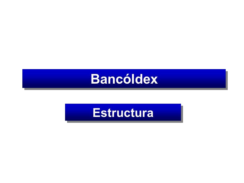 Bancóldex Estructura