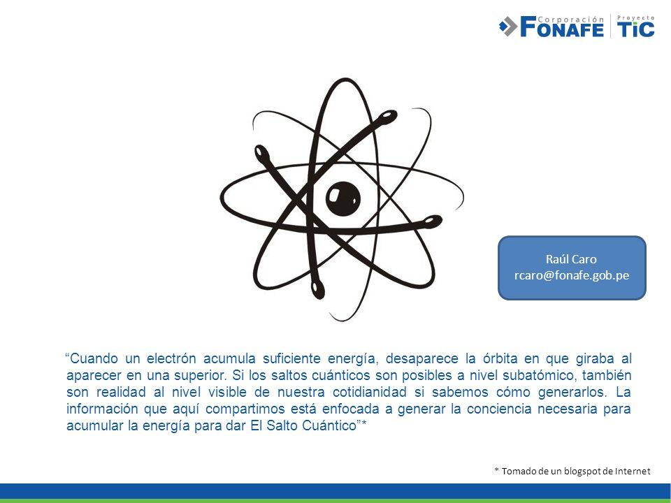 Cuando un electrón acumula suficiente energía, desaparece la órbita en que giraba al aparecer en una superior. Si los saltos cuánticos son posibles a