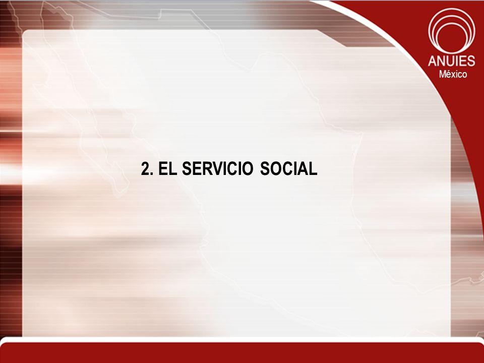 México 2. EL SERVICIO SOCIAL