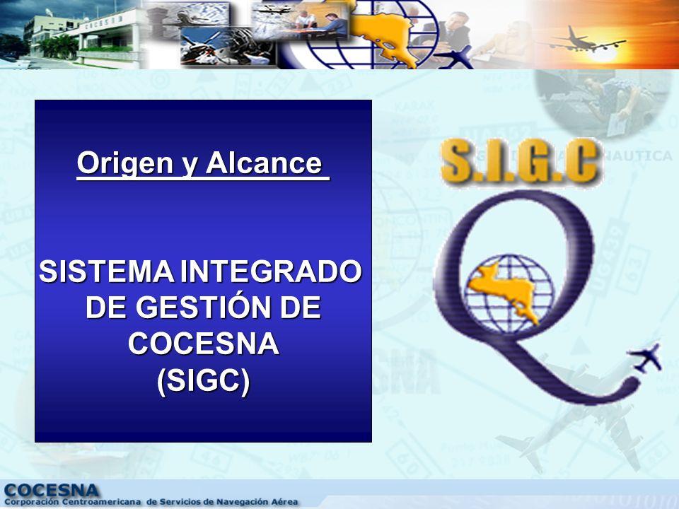 VISIÓN DE COCESNA Ser el Organismo Internacional modelo de Integración Centroamericana que fortalezca la aviación civil regional dentro del contexto m
