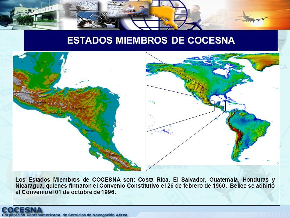 GÉNESIS DE COCESNA COCESNA, es creada por los Estados Centroamericanos, para dar cumplimiento a sus compromisos y obligaciones, contraídos como signat