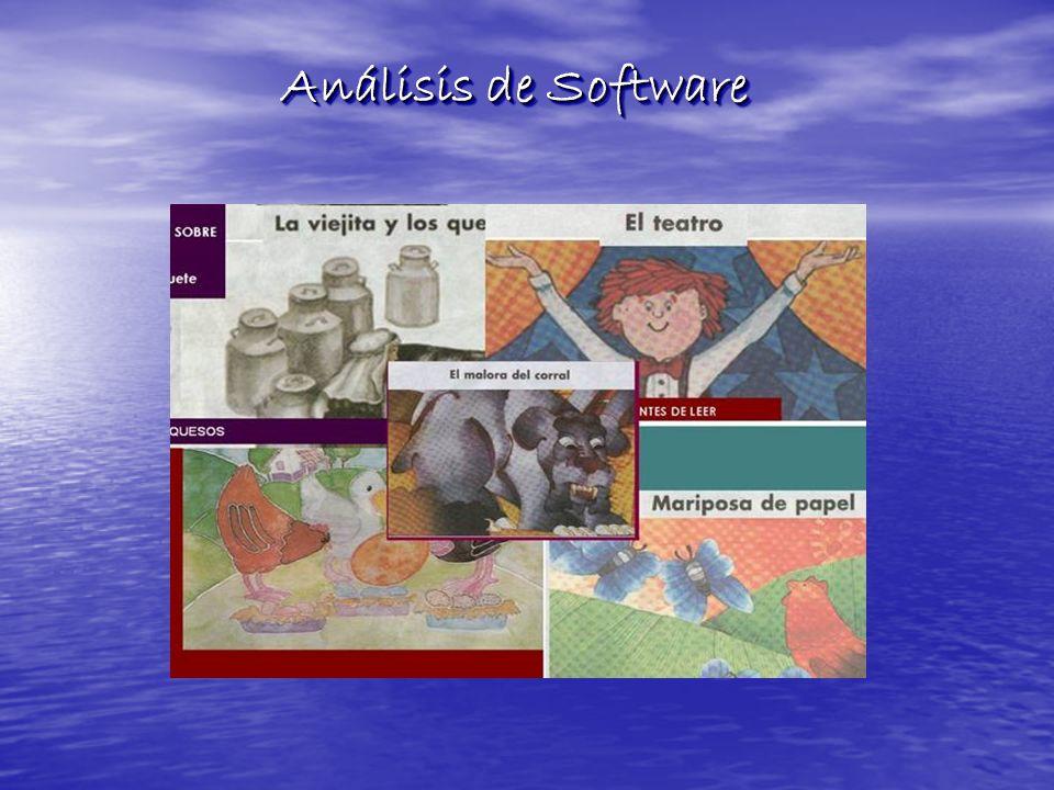 Análisis de Software Análisis de Software
