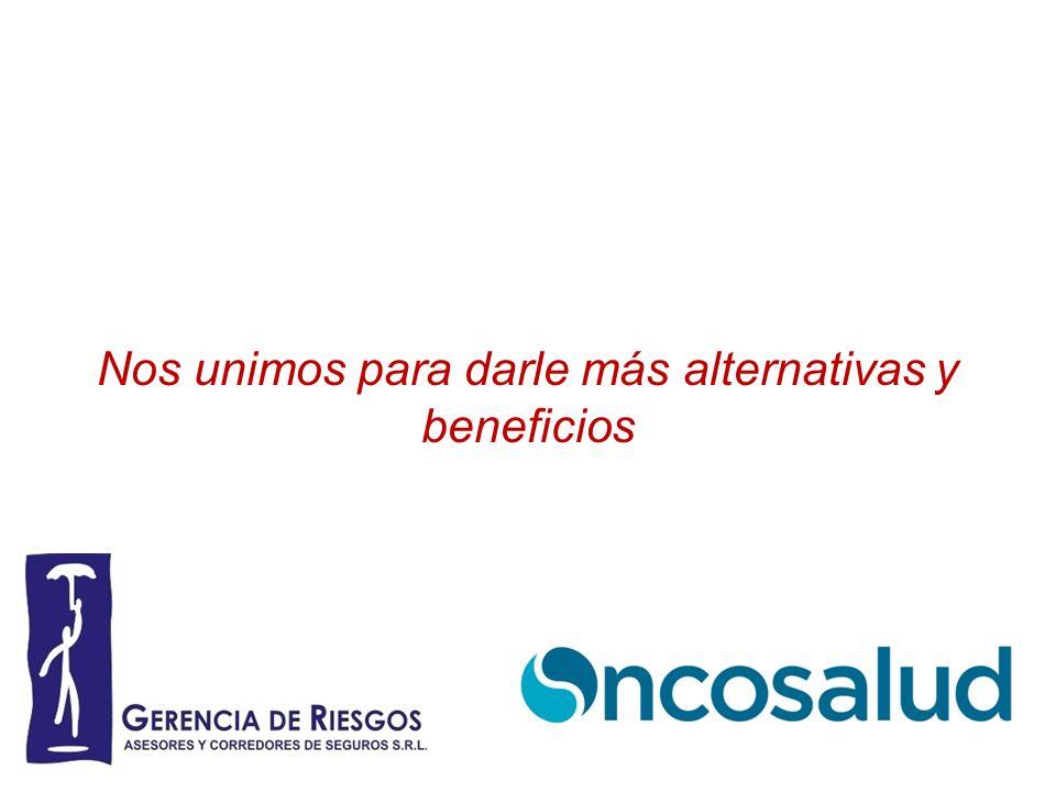 Gerencia de Riesgos como sus asesores y corredores de seguros y Oncosalud, empresa líder en administración de programas oncológicos; tenemos como objetivo y compromiso contribuir a una cultura de Prevención y a mejorar la calidad de vida de nuestros clientes.