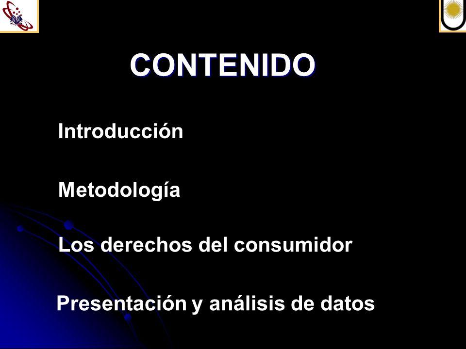 Los derechos del consumidor Las normas legales definen: Deberes de seguridad e información en las relaciones de consumo (arts.