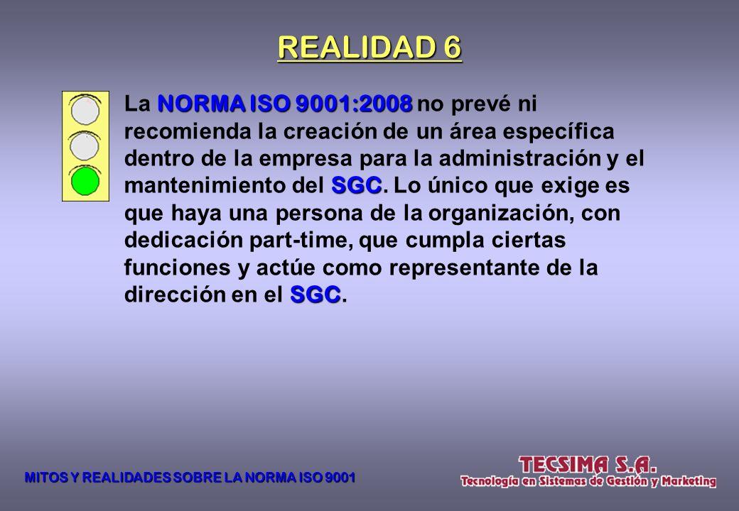Para certificar la ISO 9001 9001 hay que tener un gerente o jefe de calidad, cuyo costo no puede ser asumido por la inmensa mayoría de las PYME argent