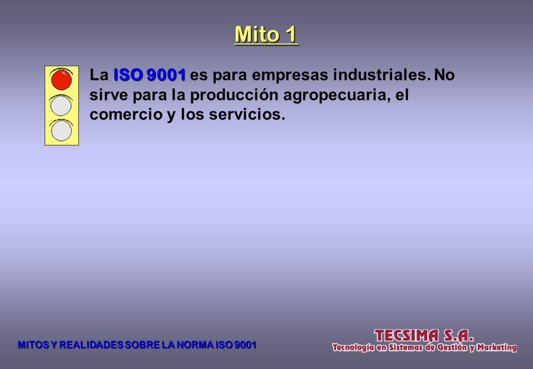 A pesar de su amplia difusión y aceptación mundial, los comentarios que escuchamos sobre la NORMA ISO 9001 9001 nos hacen presumir que su contenido y