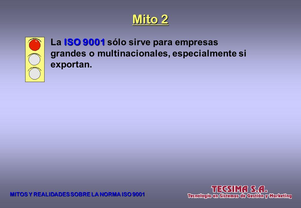 Cualquier organización puede implementar un SISTEMA DE GESTIÓN DE LA CALIDAD (SGC) y certificarlo de acuerdo a la NORMA ISO 9001:2008 9001:2008, y par