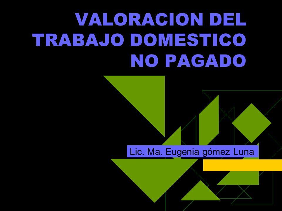 Introducción Marco de Referencia Elementos para medir la producción Cálculo del valor de los servicios domésticos no pagados Principales resultados Uso del tiempo