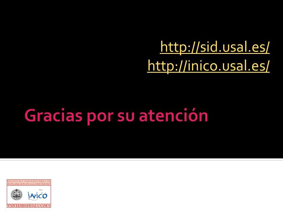 http://sid.usal.es/ http://inico.usal.es/