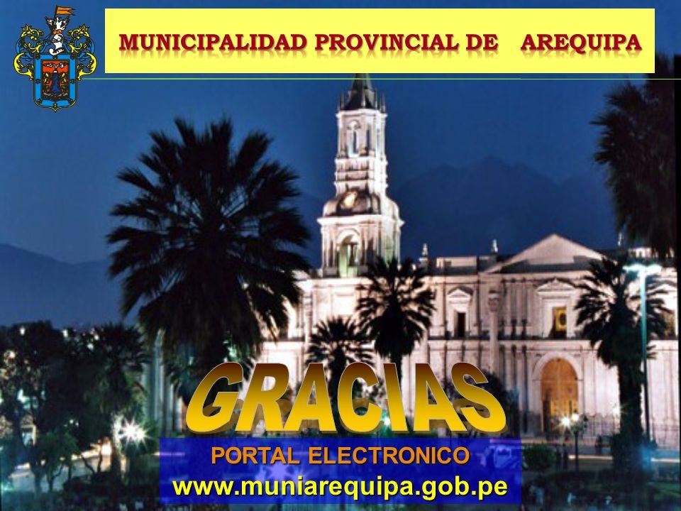 PORTAL ELECTRONICO www.muniarequipa.gob.pe