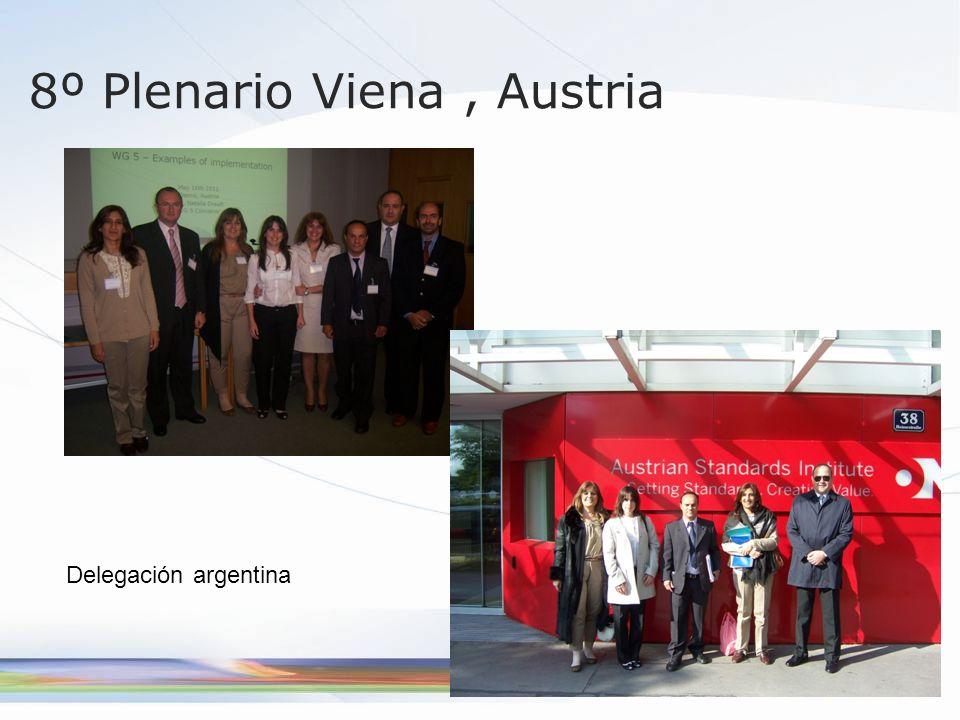 8º Plenario Viena, Austria Delegación argentina