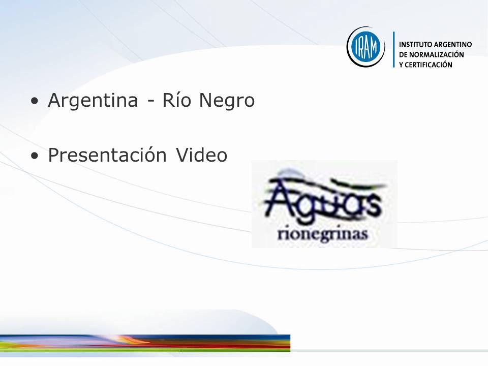 Argentina - Río Negro Presentación Video