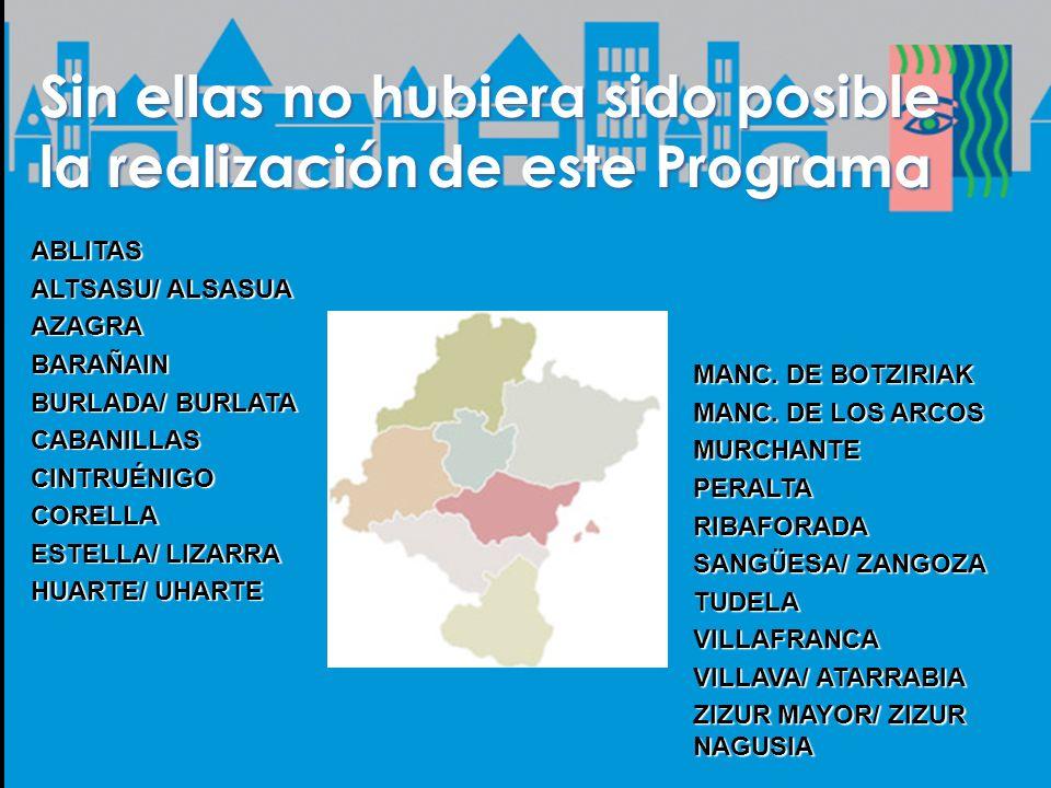 Sin ellas no hubiera sido posible la realizaciónde este Programa Sin ellas no hubiera sido posible la realización de este Programa MANC.