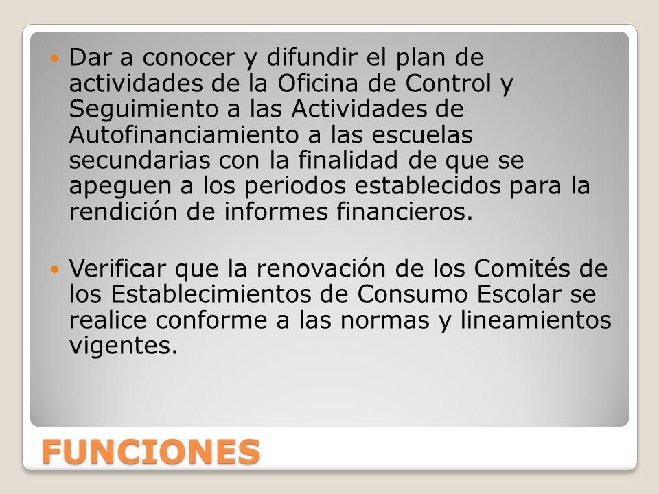 NORMATIVIDAD El funcionamiento de los Comités de los Establecimientos de Consumo Escolar se rige por lo estipulado en la Gaceta del Gobierno del Estado de México del 14 de septiembre de 2010.