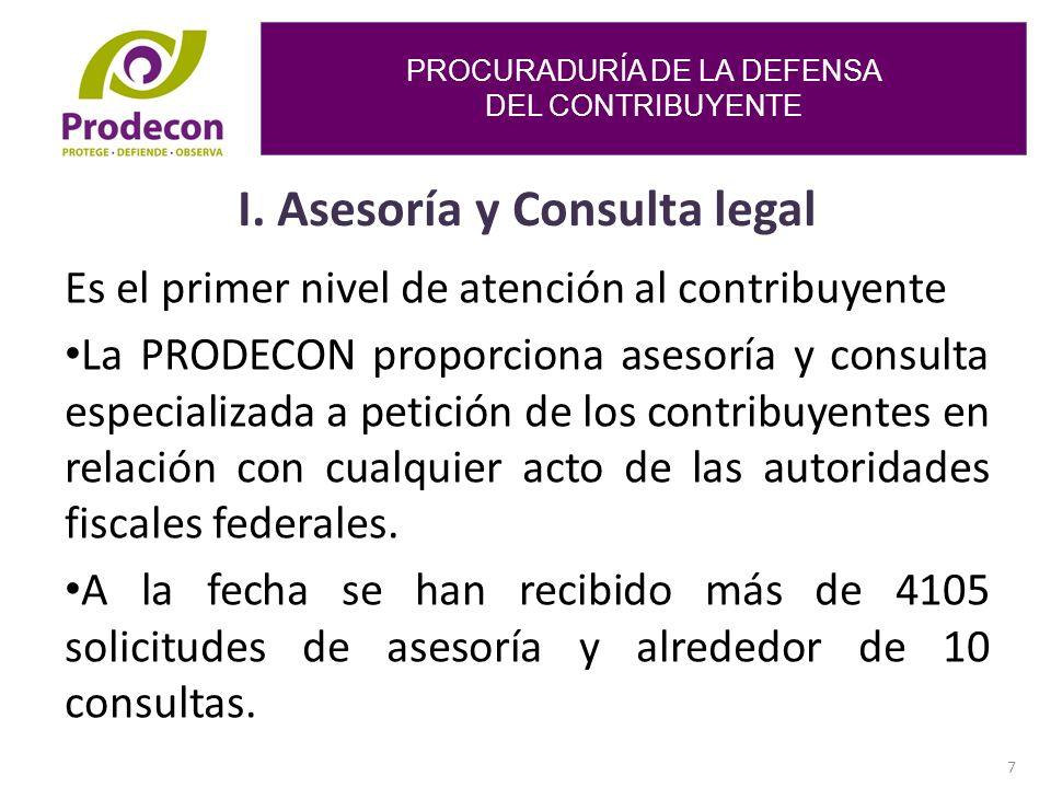 PROCURADURÍA DE LA DEFENSA DEL CONTRIBUYENTE 7 I.