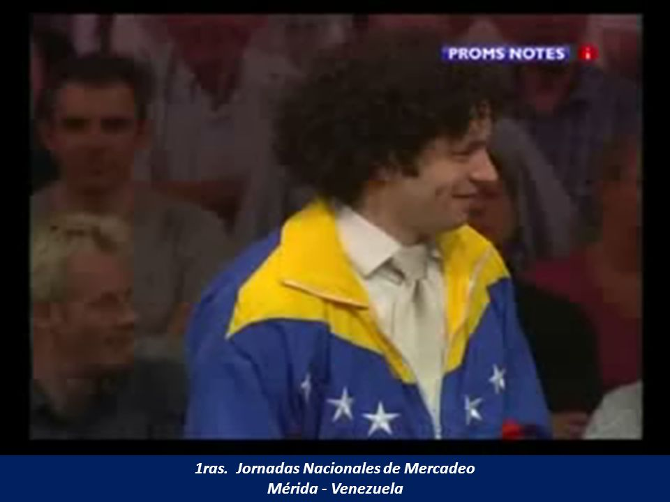 1ras. Jornadas Nacionales de Mercadeo Mérida - Venezuela