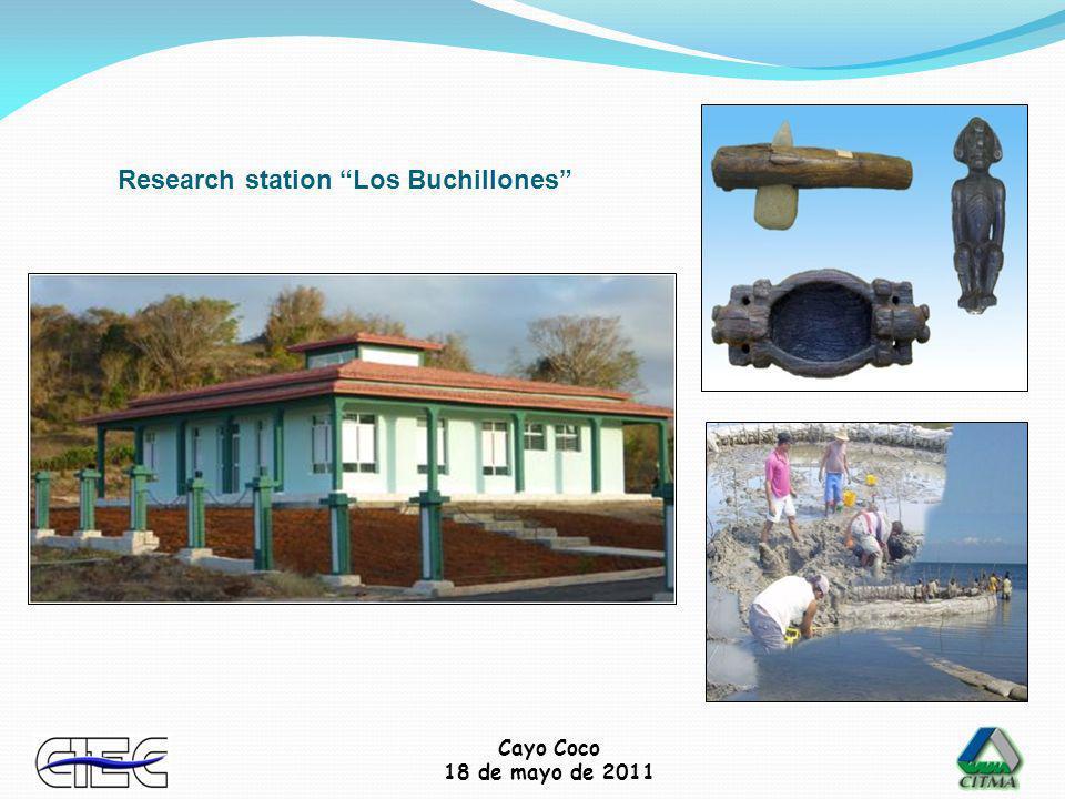 Cayo Coco 18 de mayo de 2011 Research station Los Buchillones
