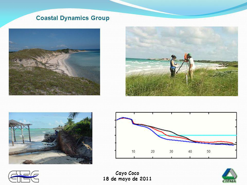 Cayo Coco 18 de mayo de 2011 Chemical analysis Group