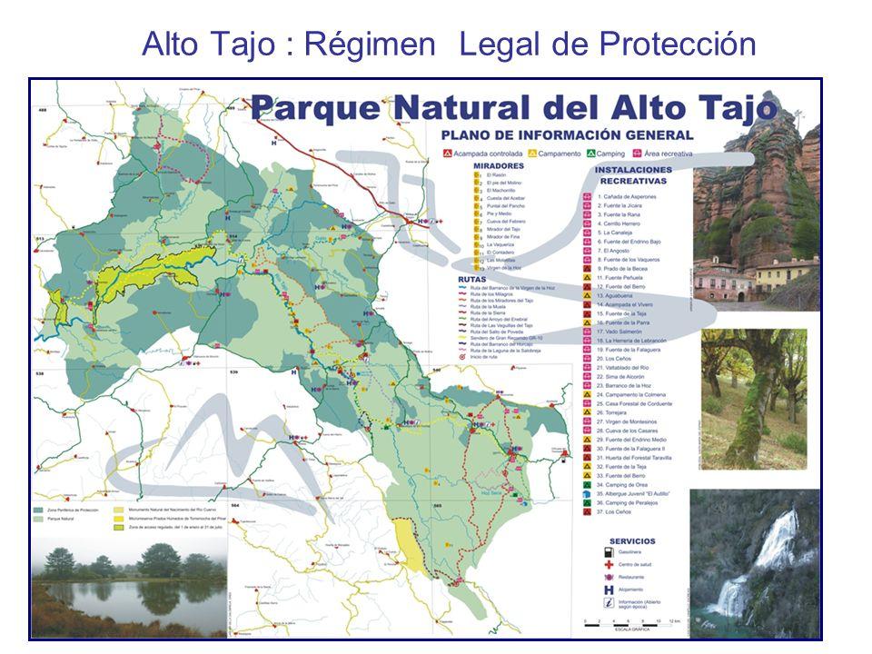 Alto Tajo : Régimen Legal de Protección