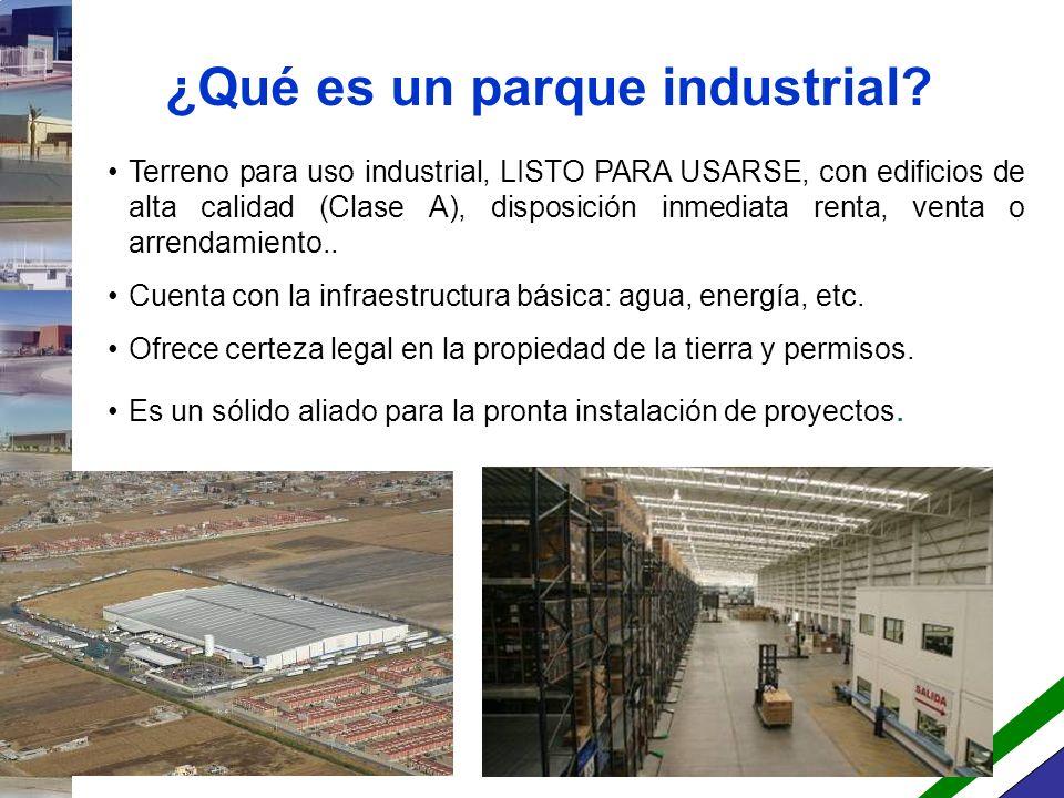 Asociación Mexicana de Parques Industriales + 50 socios corporativos: Desarrolladores, fondos de inversión y gobiernos estatales.
