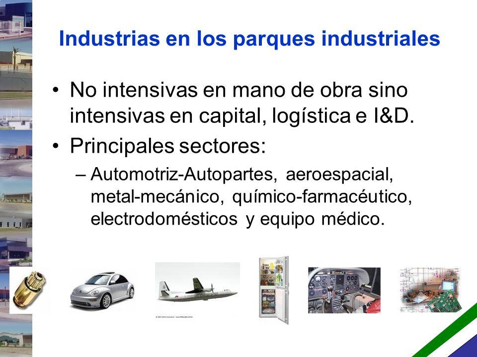 ¿Qué es un parque industrial.