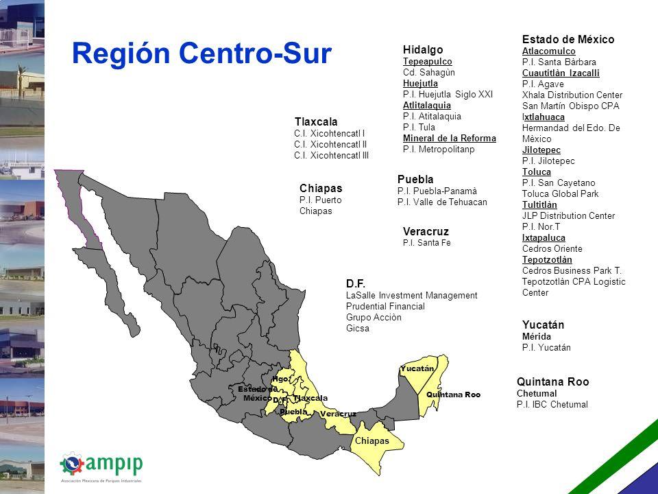Región Occidente Jalisco Guadalajara Cedros Jalisco Business Park P.I.