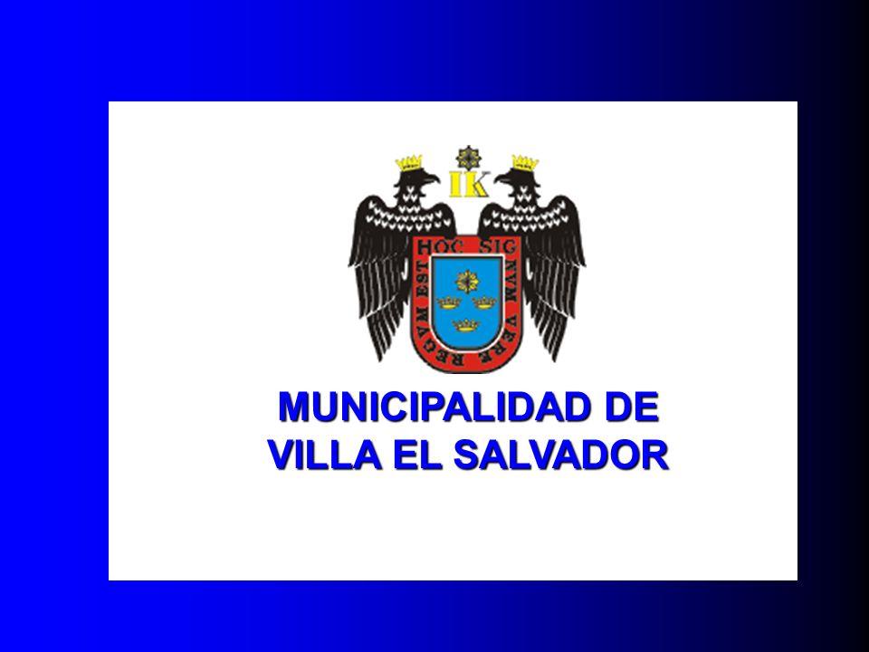 MUNICIPALIDAD DE VILLA EL SALVADOR