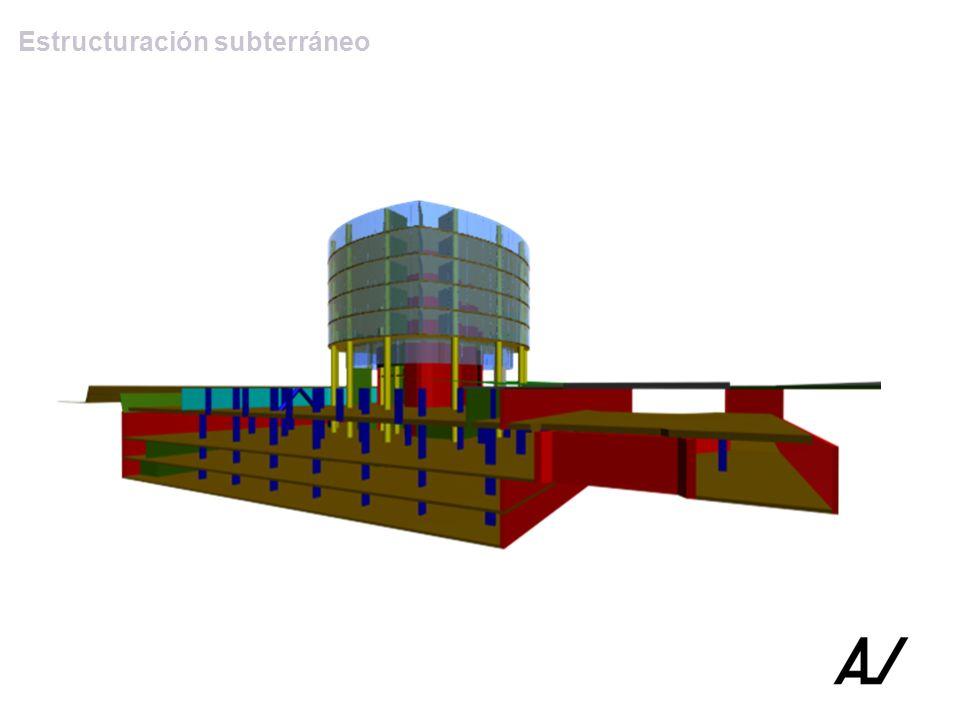 Estructuración subterráneo
