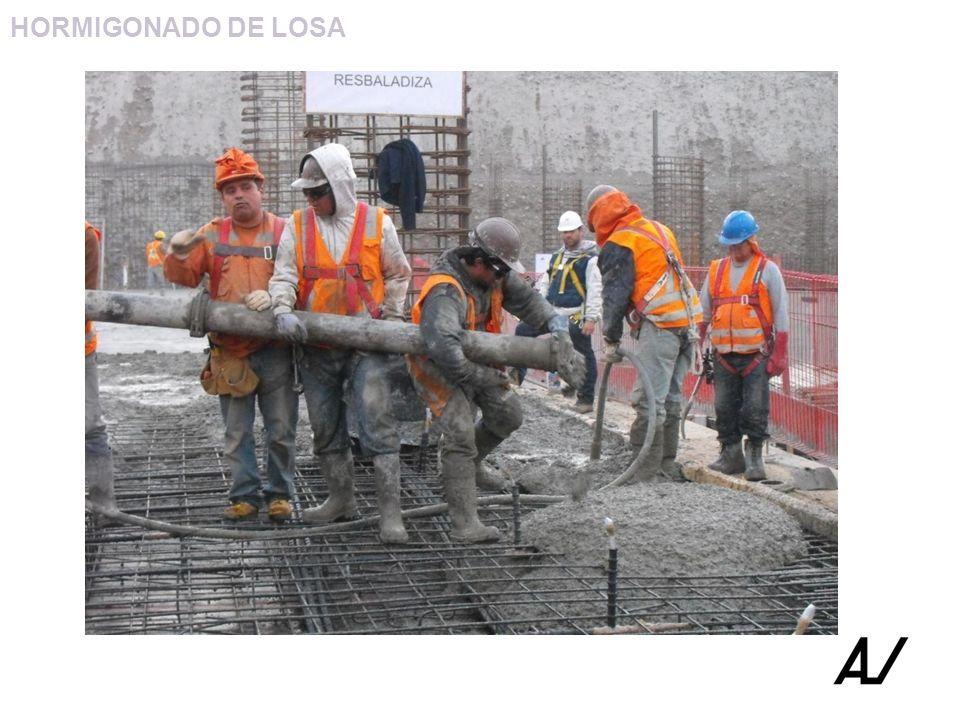 HORMIGONADO DE LOSA