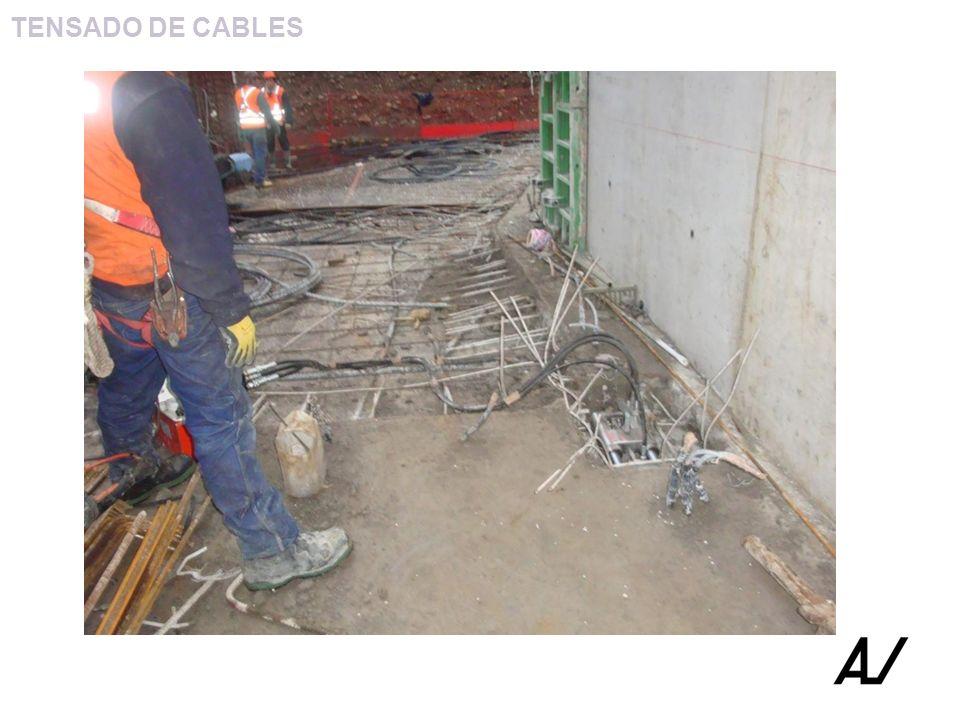 TENSADO DE CABLES
