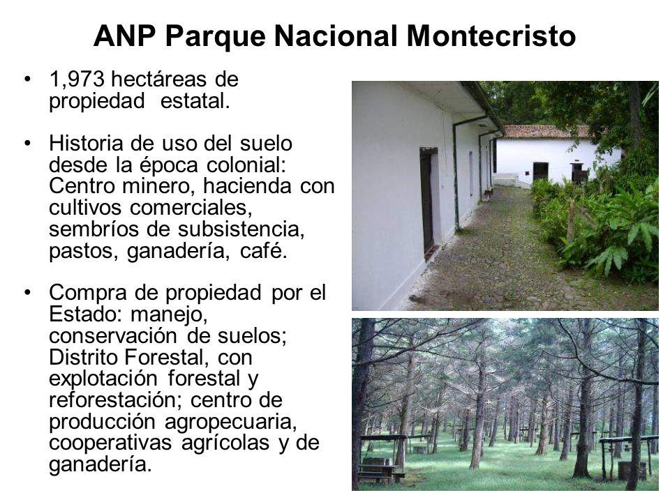Parque Nacional por Decreto Ejecutivo, en 1987.