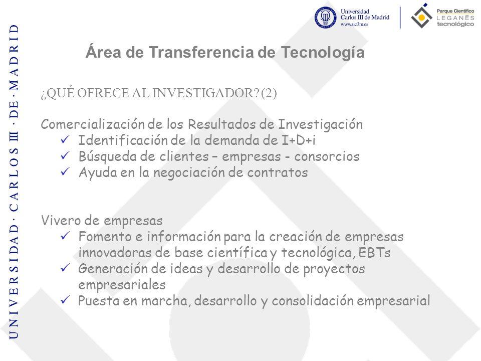 TURNO DE PREGUNTAS Gracias por su atención: UC3M - Parque Científico Área de Transferencia de Tecnología Ángel González Ahijado Lola García-Plaza Ext.