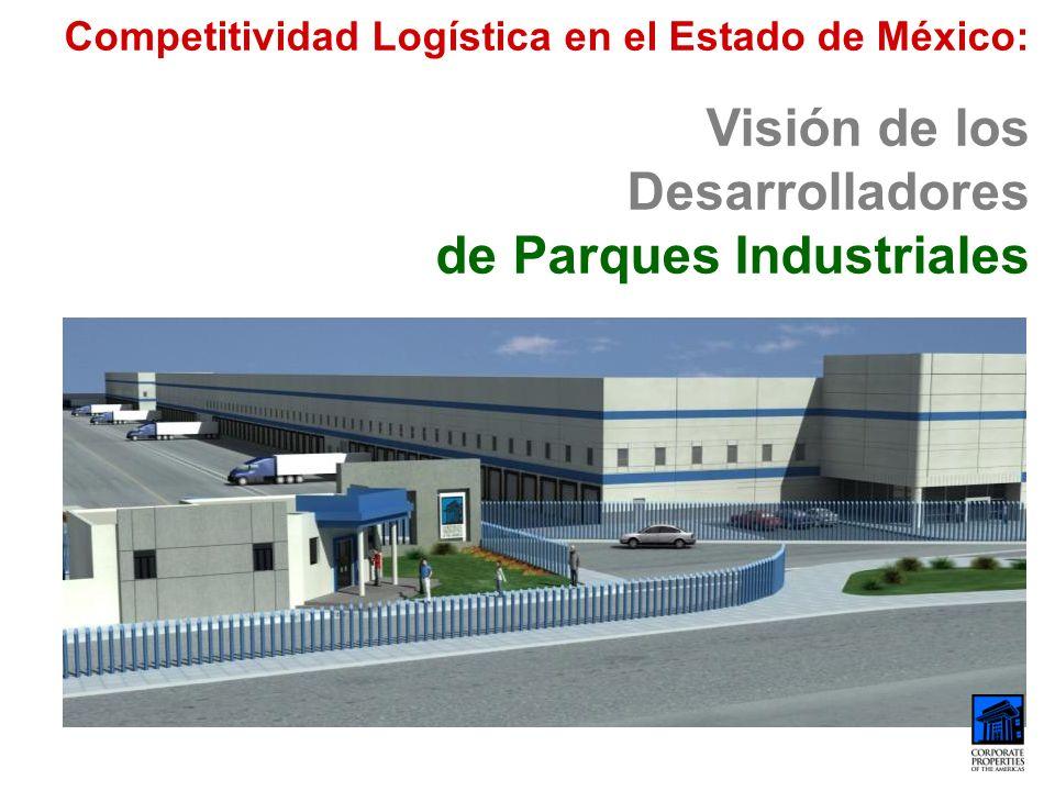 Competitividad Logística en el Estado de México: Visión de los Desarrolladores de Parques Industriales