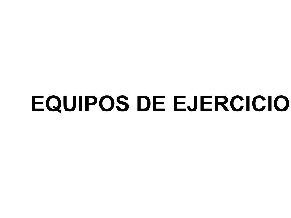 EQUIPOS DE EJERCICIO
