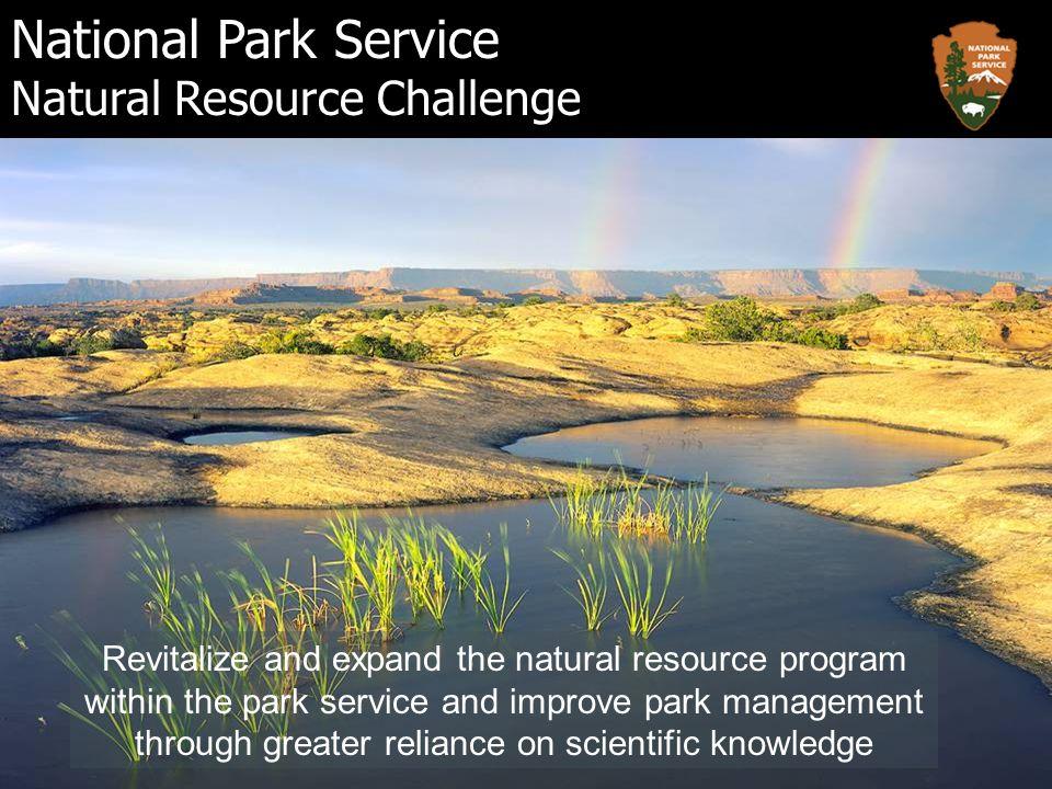 El Servicio deberá llevar a cabo un programa de inventario y monitoreo del sistema de Parques Nacionales para contar con información básica de la tendencia a largo plazo de la condición de los recursos en los Parques… NATIONAL PARKS OMNIBUS MANAGEMENT ACT OF 1998 Title II – Section 204.