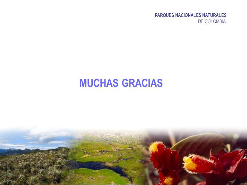 MUCHAS GRACIAS PARQUES NACIONALES NATURALES DE COLOMBIA