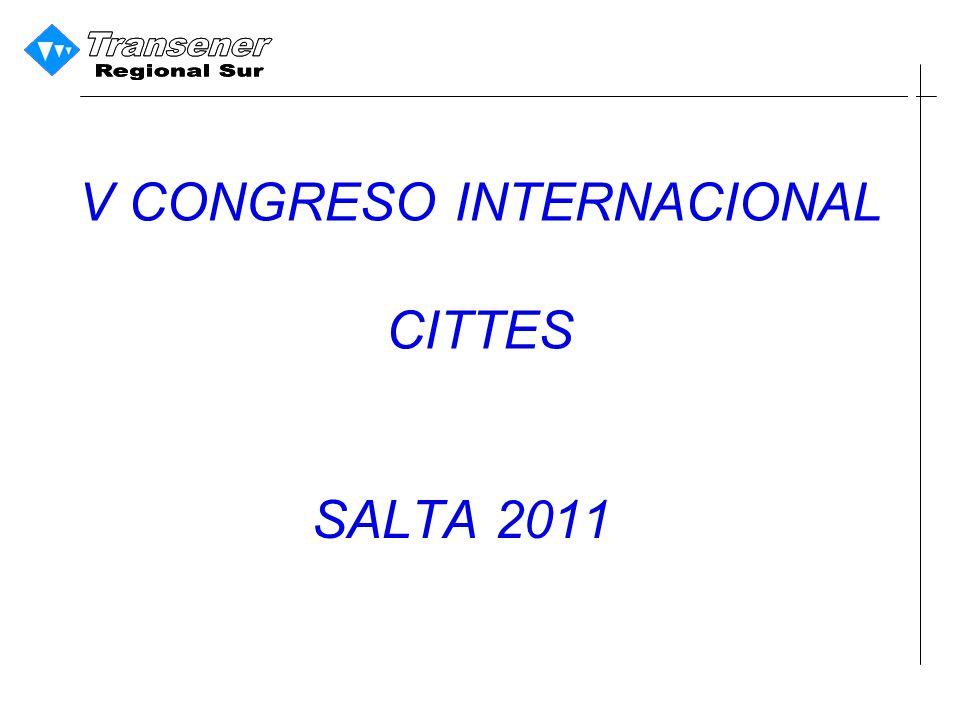 V CONGRESO INTERNACIONAL CITTES SALTA 2011