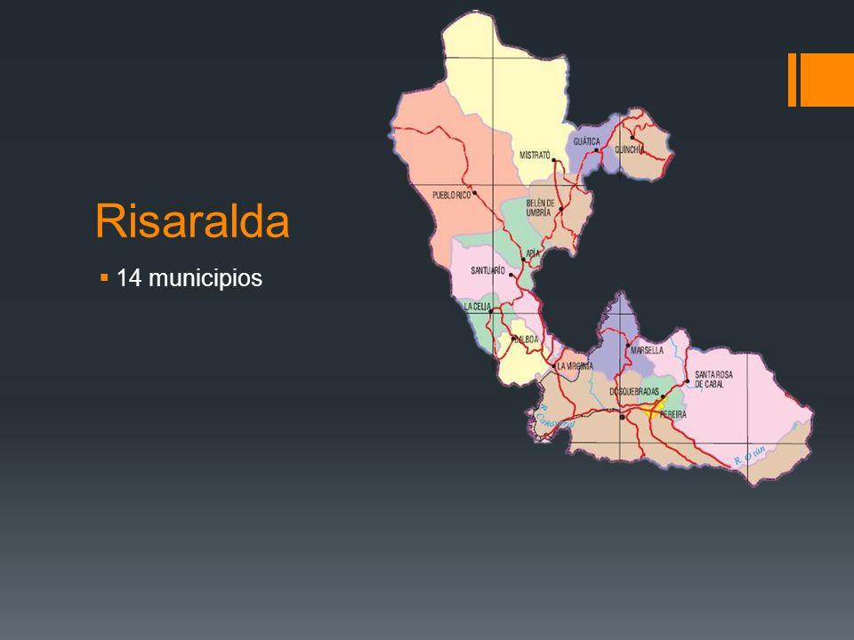 Risaralda 14 municipios