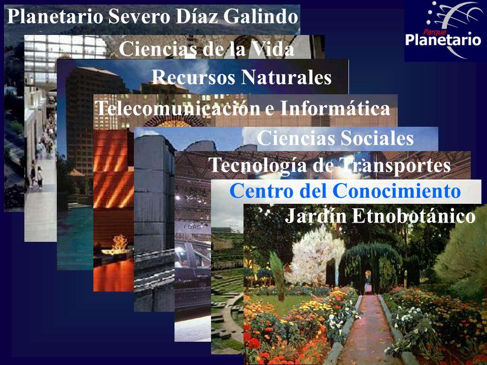 MODULOS TEMATICOS Planetario Severo Díaz Galindo (Primer paso: su restauración completa para las Ciencias Básicas) Ciencias de la Vida Recursos Natura