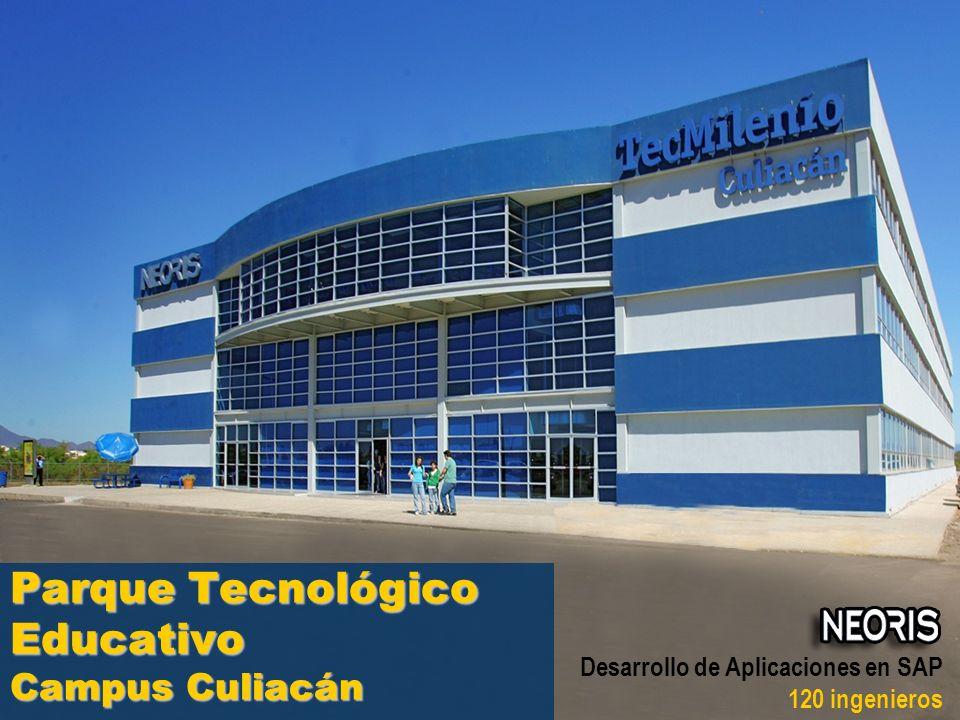 Universidad TecMilenio Desarrollo de Aplicaciones en SAP 120 ingenieros Parque Tecnológico Educativo Campus Culiacán