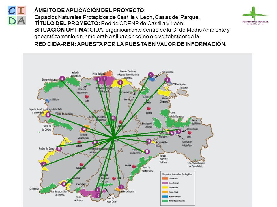 Vive Castilla y León: Programa Parques Naturales de Castilla y León: espacios naturales declarados protegidos, casas del parque, red de senderos.