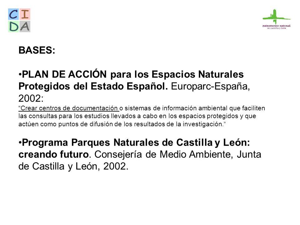 SITUACIÓN DE PARTIDA - Coordinación: El Centro de Información y Documentación Ambiental (CIDA), de la Consejería de Medio Ambiente.