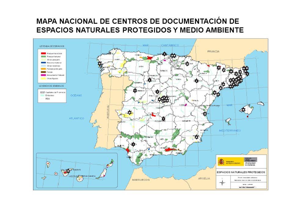 RESULTADO FINAL A NIVEL NACIONAL DE LA RED CENTROS DE DOCUMENTACIÓN DE ESPACIOS NATURALES PROTEGIDOS