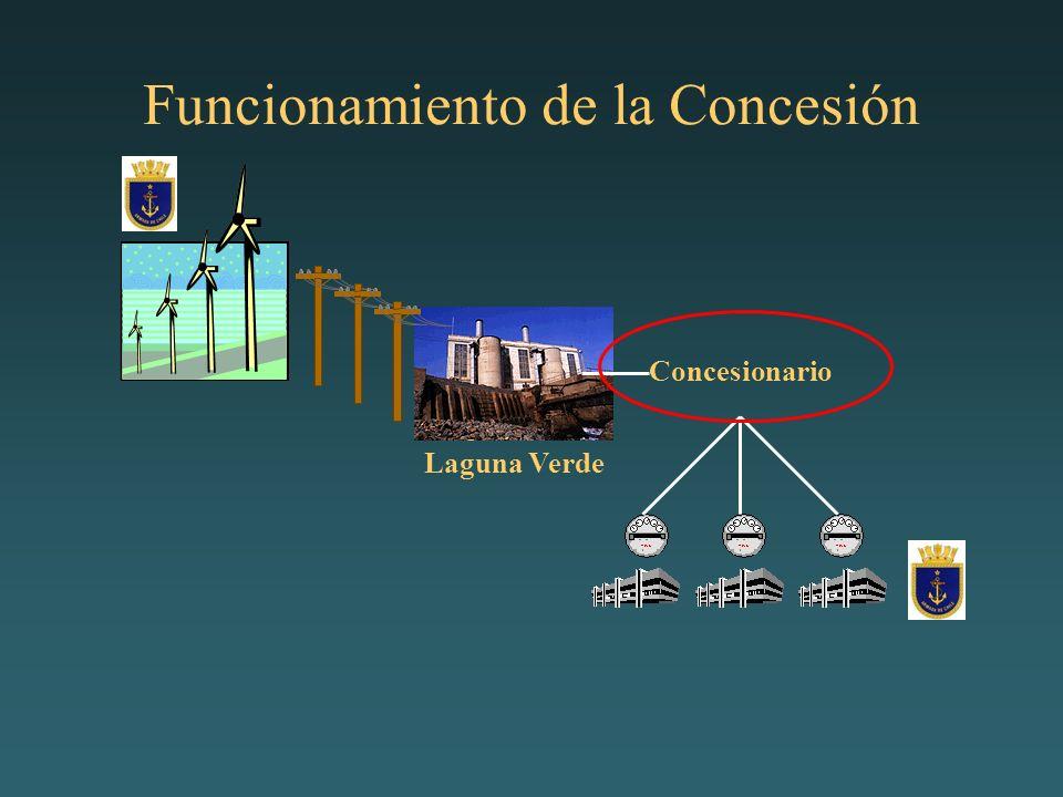 Funcionamiento de la Concesión Concesionario Laguna Verde