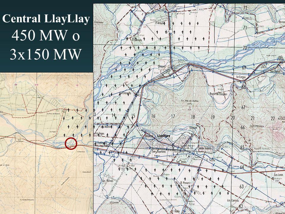 Central LlayLlay 450 MW o 3x150 MW